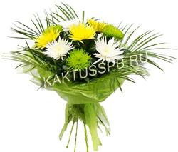 Букет хризантем №10