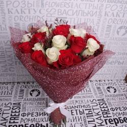 """Букет с розами """"Романтичный"""""""