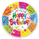 """Фольгированный шарик """"Happy Birthday-2"""""""
