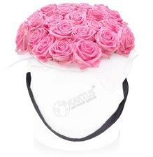 Композиция с розовыми розами №6
