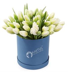 Композиция с тюльпанами № 25