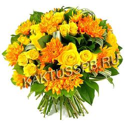 Букет хризантем №13