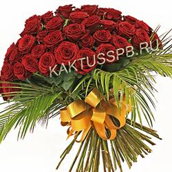 "Букет бордовых роз ""Кристин"""