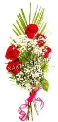 "Букет красных роз ""Лесенка"""