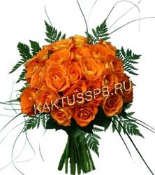 """Букет оранжевых роз """"Любовь в воздухе"""""""