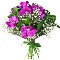Букет орхидеи Ванда