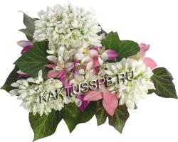 Букет подснежников и орхидей