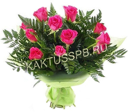 """Букет розовых роз """"Сон принцессы"""""""