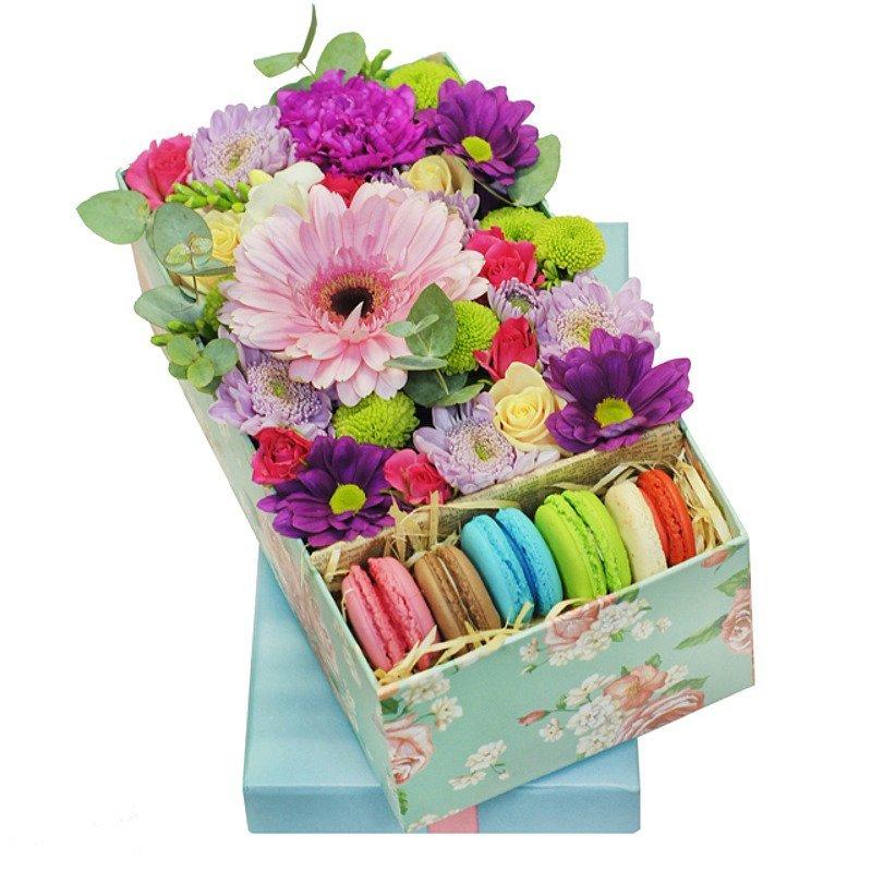 Заказать в белгороде цветы с сладостями в коробке с доставкой дешево