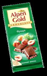 Шоколадка Alpen Gold