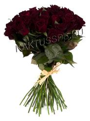 """Букет из 33 черных роз """"Дракула"""""""