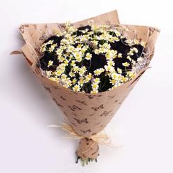 Букет из черных роз №8