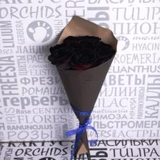 Букет из черных роз