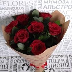 """Букет красных роз """"Стандартный"""""""
