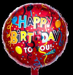 """Фольгированный шарик """"Happy Birthday"""""""