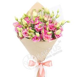 Розовые лизиантусы с доставкой.
