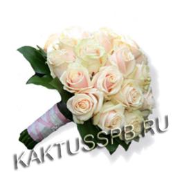 Букет невесты в нежно-розовом стиле №2
