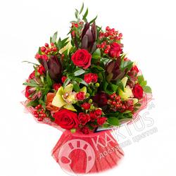 Сафари и розы с орхидеями.