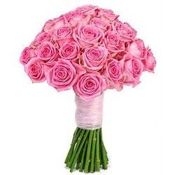 Букет невесты в нежно-розовом стиле №13