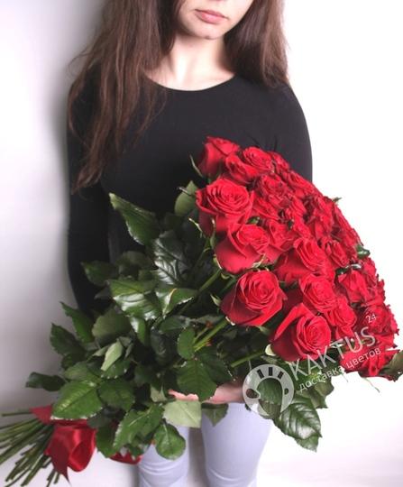 Купить букет длинные цветов спб — 5
