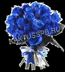 19 синих роз